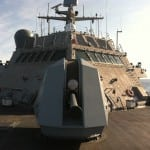 The USS Fort Worth (LCS-3). Photo: Defense Daily.