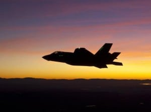 The F-35 Joint Strike Fighter. Photo by Lockheed Martin.