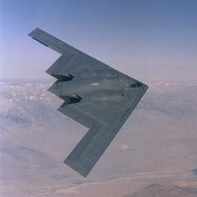 Northrop Grumman's B-2 bomber. Photo: Air Force.