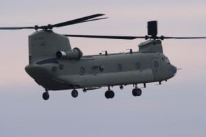 CH-47 Chinook Helicopter. Photo: Boeing.