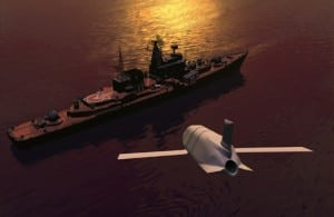 An artist's rendering of LRASM. Photo: Lockheed Martin.