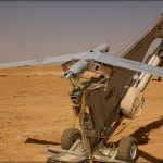 The ScanEagle is a catapult launched UAV. Photo: Boeing.