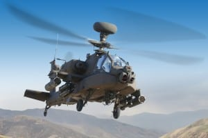 Apache Helicopter with M-TADS/PNVS On Nose Photo: Lockheed Martin