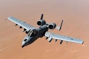 The U.S. Air Force's A-10. Photo: Air Force.