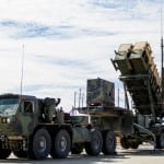 Patriot air defense units are popular Foreign Military Sales (FMS) items. Photo: Raytheon.
