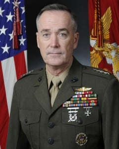 Marine Corps Gen. Joseph Dunford, the chairman of the Joint Chiefs of Staff