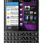 BlackBerry's Q10 smart phone. Photo: BlackBerry