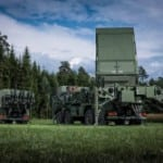MEADS Multifunction Fire Control Radar Photo: MBDA Germany.