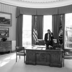 President Barack Obama in the Oval Office. White House photo by Pete Souza