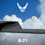 Artist's rendering of the Air Force's Long Range Strike Bomber, designated B-21. Photo: Air Force.