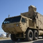 The HEL-MD is a laser system mounted on a standard Army heavy expanded mobility tactical truck (HEMETT). Still a demonstrator, it's hoped the testing conducted at White Sands and other ranges will lead to a program of record.