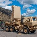 Lockheed Martin truck-mounted Q-53 radar systems.