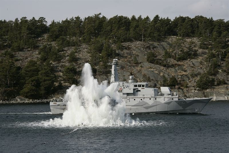 Sweden Navy Chief Says Information Sharing Necessary For Gray Zone Threats