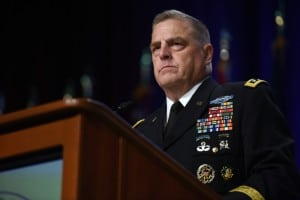 Army Gen. Mark Milley, chief of staff of the Army, addresses the National Guard Association of the United States 138th General Conference, Baltimore, Md., Sept. 10, 2016. (U.S. Army National Guard photo by Sgt. 1st Class Jim Greenhill)