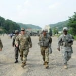 Gen. Mark A. Milley, U.S. Army Chief of Staff, during his Aug. 18, 2016 visit to Rodriguez Live Fire Center, South Korea.