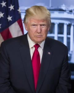 President Donald Trump. Photo: White House.