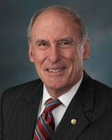 Former Sen. Dan Coats (R-Ind.), the  Director of National Intelligence. Photo: U.S. Senate.
