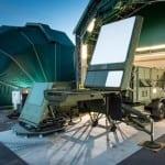 Raytheon's GaN-powered AESA air and missile defense radar. Photo: Raytheon