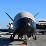 The Air Force's X-37B unmanned spaceplane (Photo courtesy of Air Force)