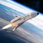 An artist's rendering of Boeing's Phantom Express. (Courtesy of Boeing)