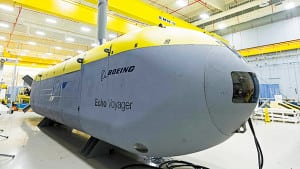 The Echo Voyager unmanned undersea vehicle. Photo: Boeing.