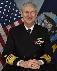 Vice Adm. Thomas Moore, commander, Naval Sea Systems Command. Photo. U.S. Navy