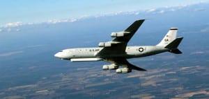 The E-8C JSTARS. (Air Force photo)