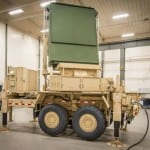 Lockheed Martin's AESA ARES radar technology demonstrator using gallium nitride (GaN) technology. Photo: Lockheed Martin.