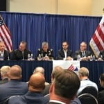 Cyber readiness panel at AFCEA INSA Intelligence & National Security Summit. Photo: Matthew Beinart.