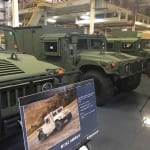 New-build Humvee variants at AM General's South Bend, Ind., factory on Aug. 27, 2017. (Photo by Dan Parsons)