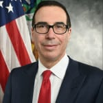 Secretary of the Treasury Steven Mnuchin. Photo: Department of the Treasury