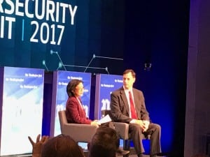 White House Cyber Security Coordinator Rob Joyce at the Washington Post Cybersecurity Summit on Oct. 3. Photo: Matthew Beinart.