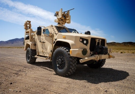 Army's 'Not There Yet' On Going After Full Electrification For JLTV, McConville Says