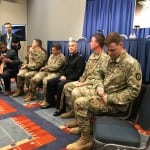 AUSA 17 media roundtable with commander of Army Cyber Command LTG. Paul Nakasone and cyber operations forces. Photo: Matthew Beinart.