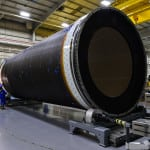 A rocket motor case for Orbital ATK's new Next Generation Launch system. (Photo courtesy of Orbital ATK)