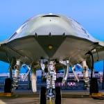 Boeing's offering for the MQ-25 Stingray unmanned aircraft carrier-based tanker program. (Photo: Boeing)