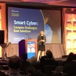 Assistant Secretary for the Department of Homeland Security's National Protection and Programs Directorate Jeanette Manfra at the Symantec Government Symposium. Photo: Matthew Beinart.