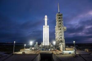 Falcon Heavy (SpaceX photo)