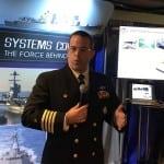 Capt. Jon Rucker, Navy program manager for unmanned maritime systems. Photo: Matthew Beinart.