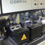 Corfin's Robotic Hot Solder Dip equipment handles tens of thousands of parts daily. Photo: Corfin Industries