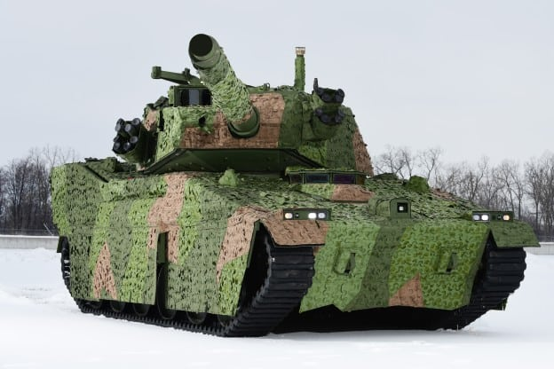 BAE Submits Modernized M8 Light Tank For Army's Mobile Protected Firepower