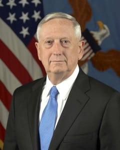Defense Secretary Jim Mattis (Army photo)