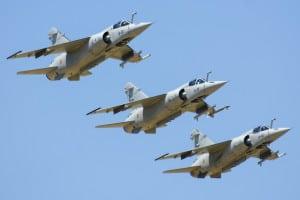 Draken International is adding Mirage fighter jets to its adversary air fleet. (Draken photo)