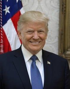 President Donald Trump.  (White House photo)