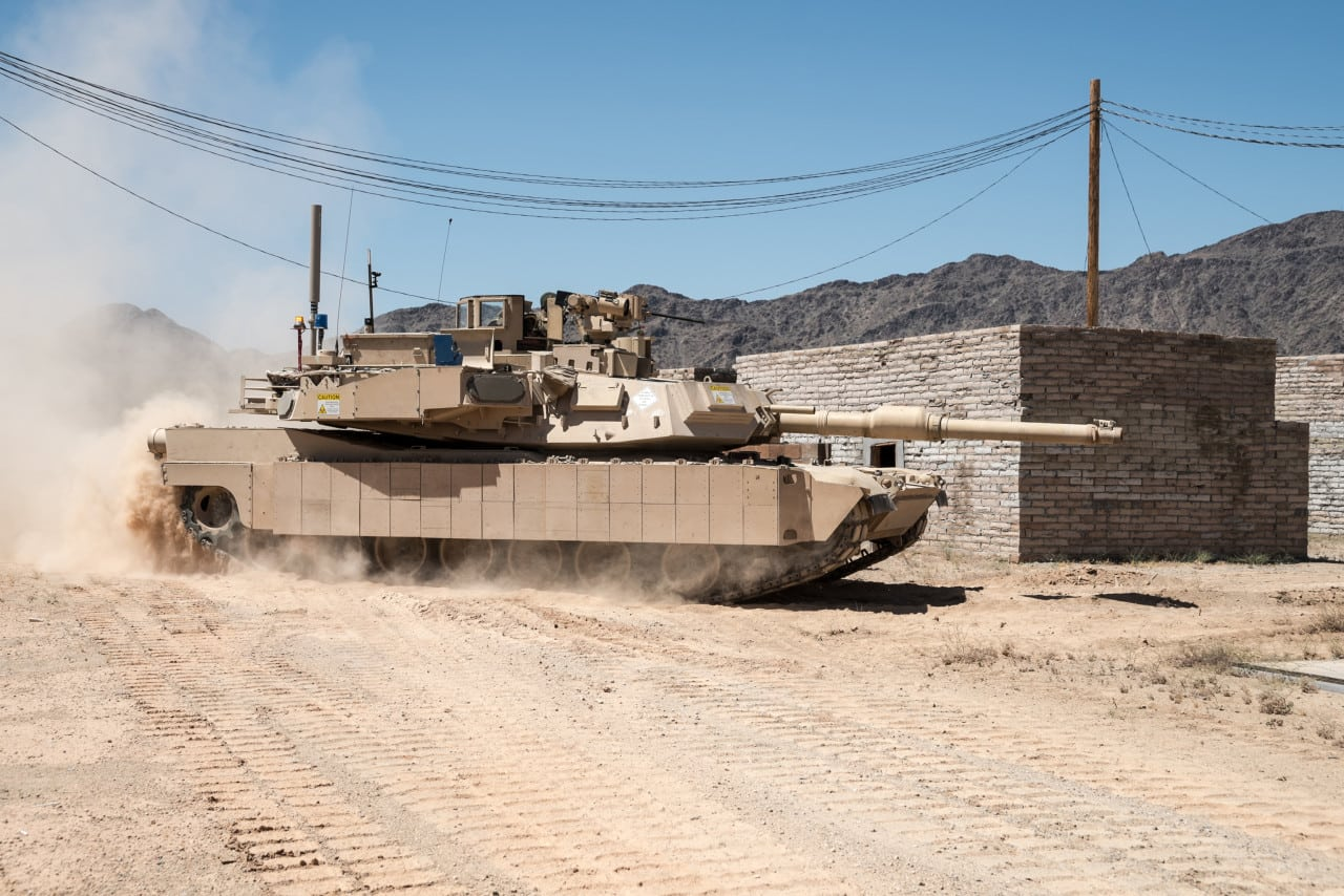 US Army's M1 Abrams Tanks Now Fully Loaded With Trophy Active Protection System (APS)