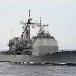 The Ticonderoga-class guided-missile cruiser USS Cowpens (CG-63) operating in the South China Sea in  2013. (Photo: U.S. Navy)
