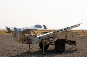 Insitu, a Boeing subsidiary, unveiled its Integrator Extended Range unmanned aerial system at the Air Force Association's annual Air, Space and Cyber conference in National Harbor, Maryland. Photo: Insitu