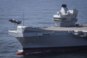 The first take off of an F-35B form the UK's HMS Queen Elizabeth aircraft carrier off the east coast of the U.S. in September 2018. (Photo: UK Ministry of Defence)
