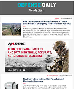 Defense Daily Weekly Digest
