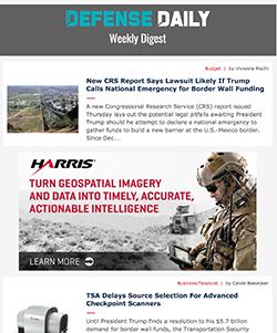 Defense Daily Weekly Digest